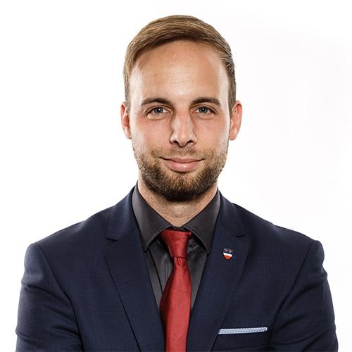 Daniel Lachmayr Buergermeister von Ennsdorf im Portrait