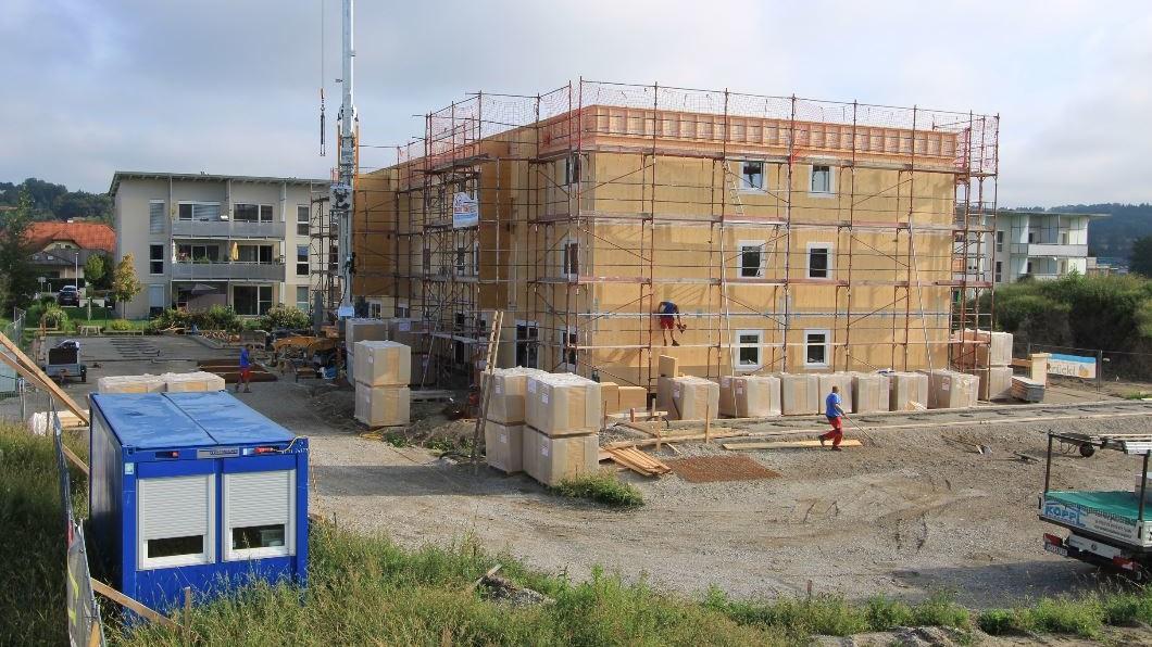 Projekt Perg Baufortschritt Rohbau