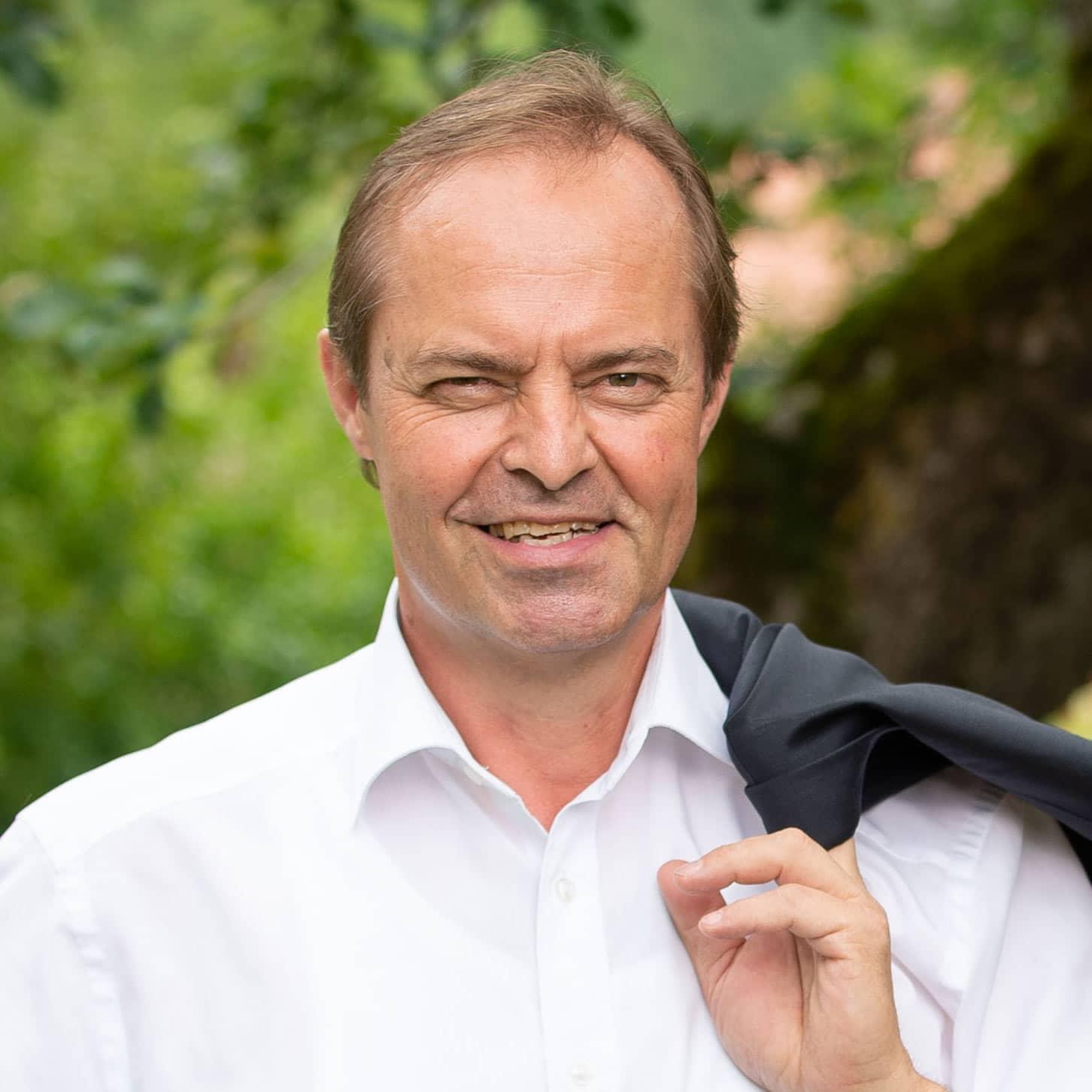 Praesident LK Kaernten Johann Moessler im Portrait