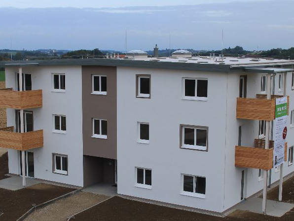 Projekt Adlwang 2 Wohngebäude in Tagesansicht