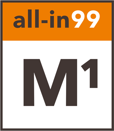 all-in99 Label M1